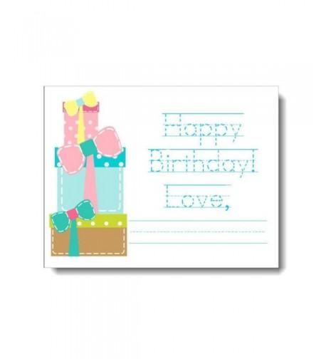Happy Birthday Cards Presents Envelopes