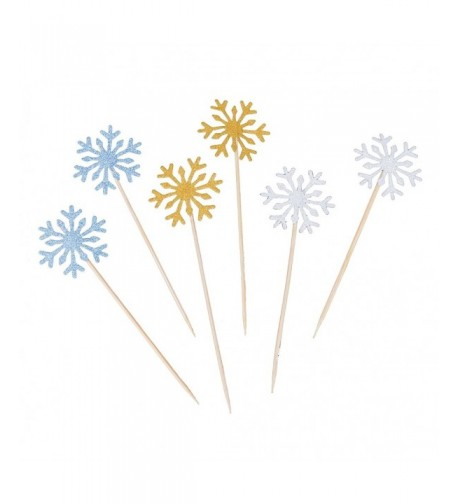 Zamango Glitter Snowflake Decoration Birthday