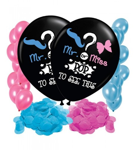 Gender Reveal Balloon Confetti Decoration