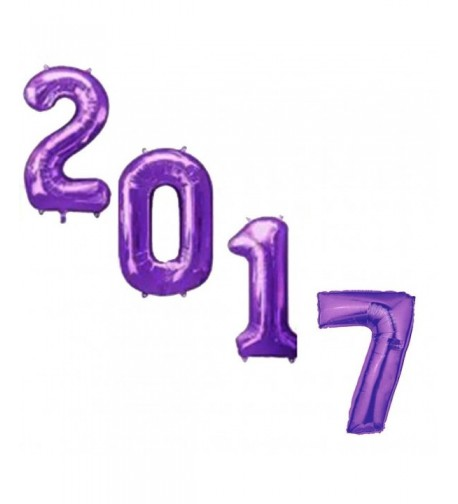 Graduation 2017 Purple Mylar Balloons