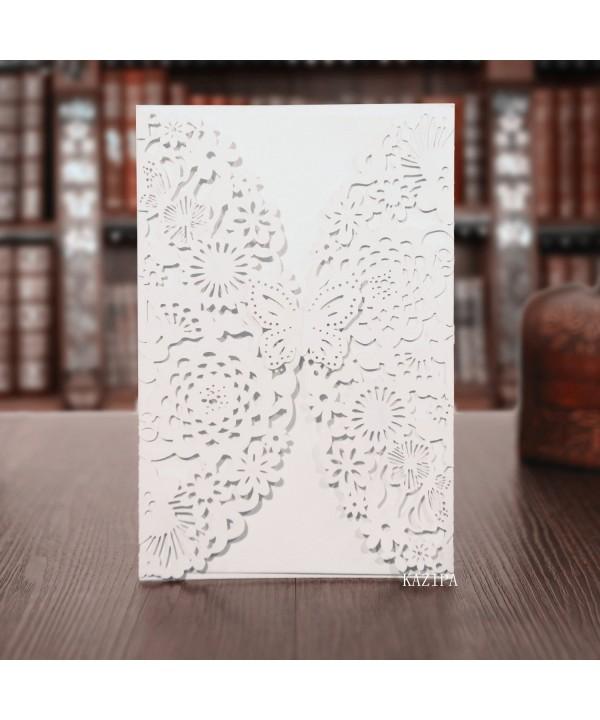 KAZIPA Invitations Envelopes Anniversary Birthday