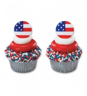 DecoPac American Cupcake Rings Count