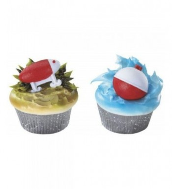 Fishing Bobbers Cupcakes Birthday Topper
