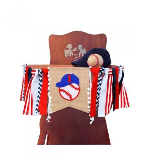 Baseball Highchair Banner Baseball Handmade Birthday