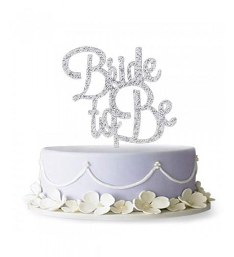 Silver Topper Engagement Decoration Supplies
