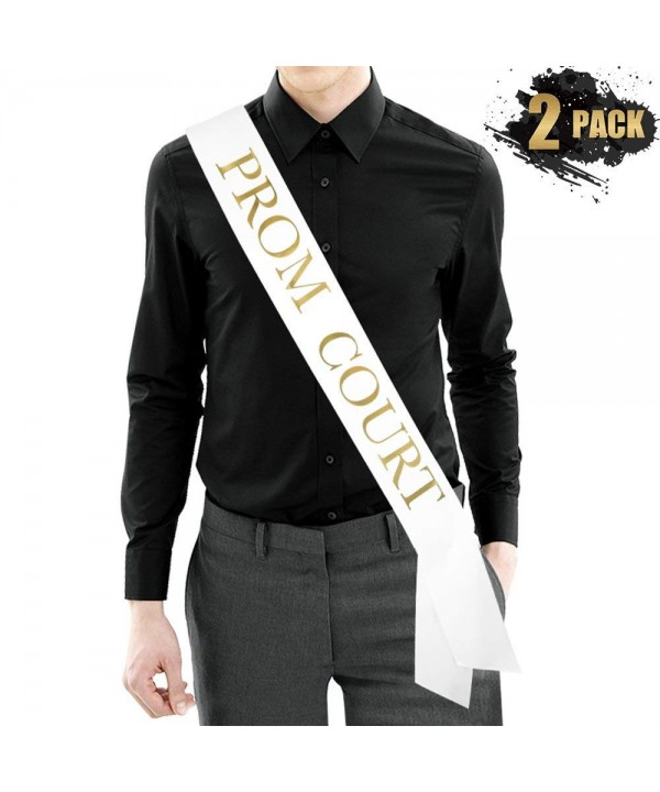 PROM COURT Sash Metallic Decorations