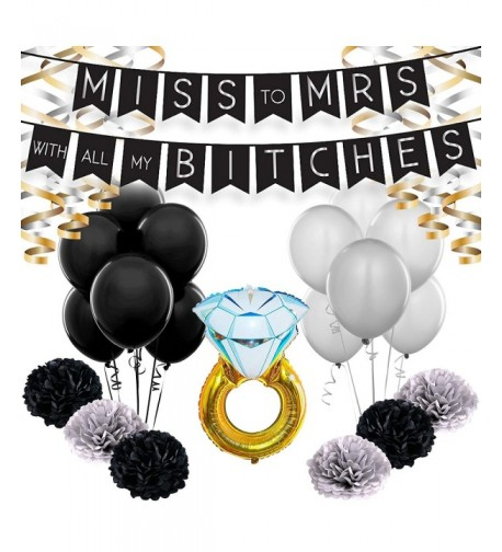 Bachelorette Party Decorations Set Engagement
