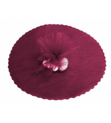 BalsaCircle 12 Inch Burgundy Fabric Circles x