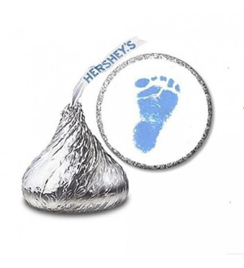 Footprint Shower Stickers Hersheys Candies