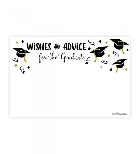 Graduation Wishes Advice Cards Count
