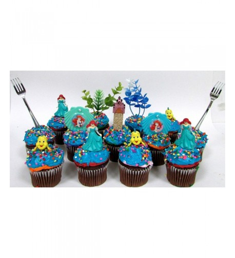 Birthday Cupcake Featuring Decorative Accessories