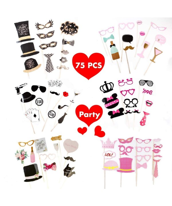 MOCCAMODE Wedding Photo Booth Props