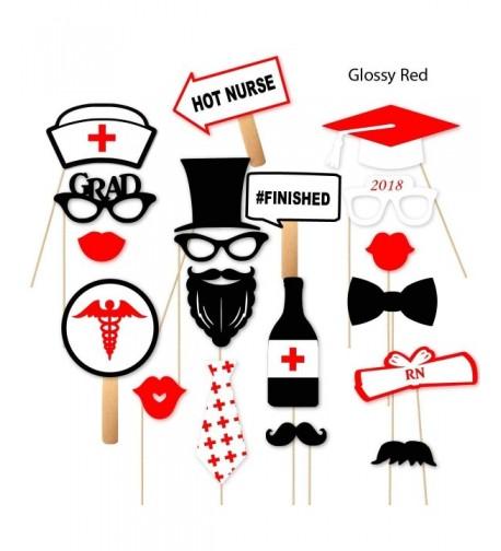 Graduation Nursing School Glitter Glossy
