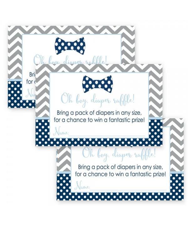 Shower Diaper Raffle Invitation Inserts