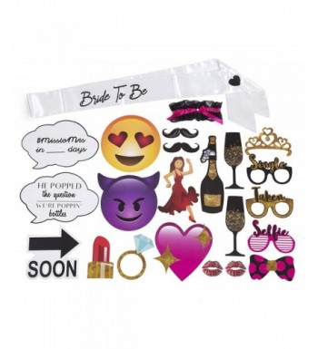 Bachelorette Decoration Vibrant Accessories Assembly