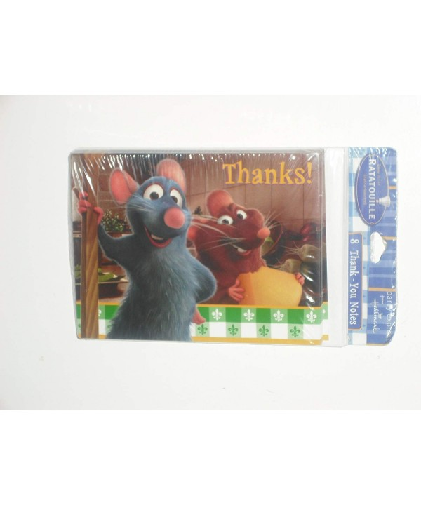 Ratatouille Party Thank YOU Cards