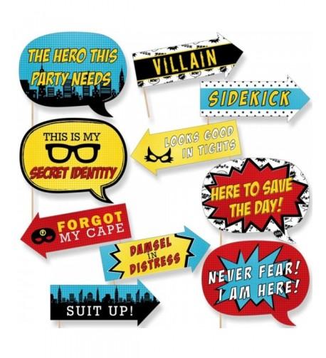 Funny BAM Superhero Shower Birthday