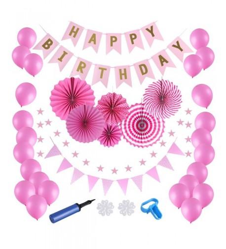 Birthday Decoration Supplies Decorations Balloons