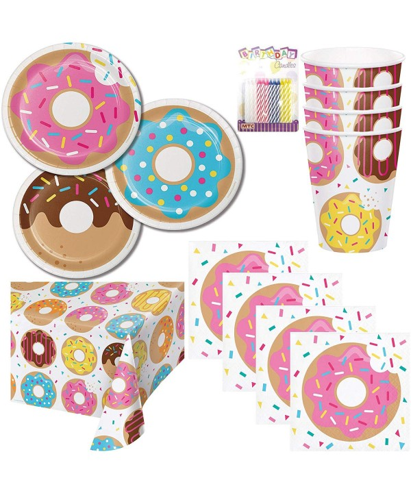 Donut Theme Party Supplies Serves
