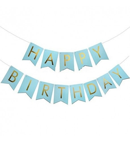USA SALES Birthday Foiled Banner Seller