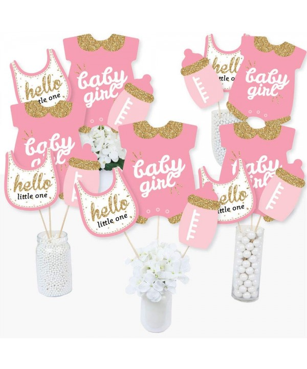Hello Little One Centerpiece Toppers