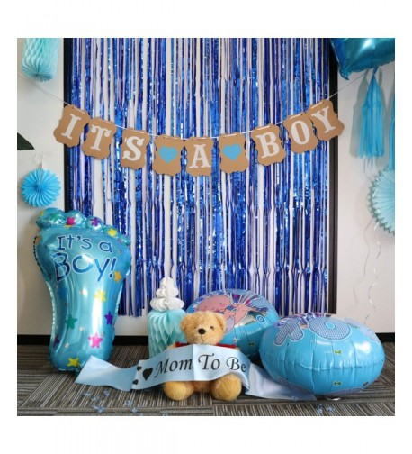 Baby Shower Decorations Boy Balloons