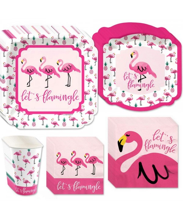 Big Dot Happiness Pink Flamingo