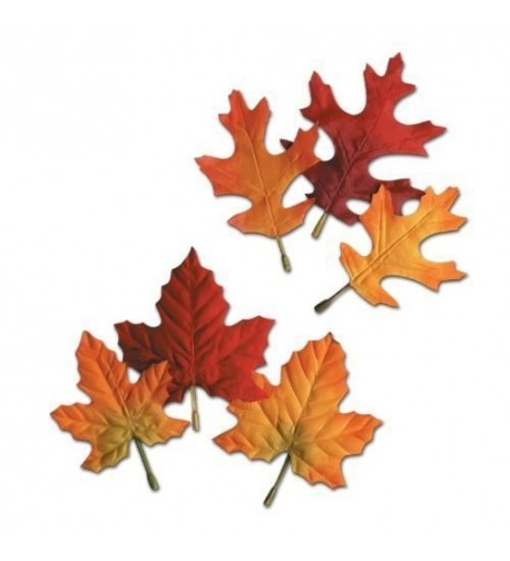 Autumn Leaves Decorations Thanksgivings Accessory