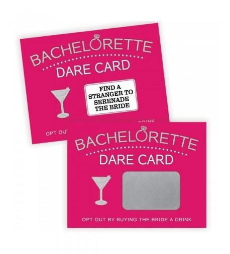 Bachelorette Party Scratch Activity Bridal