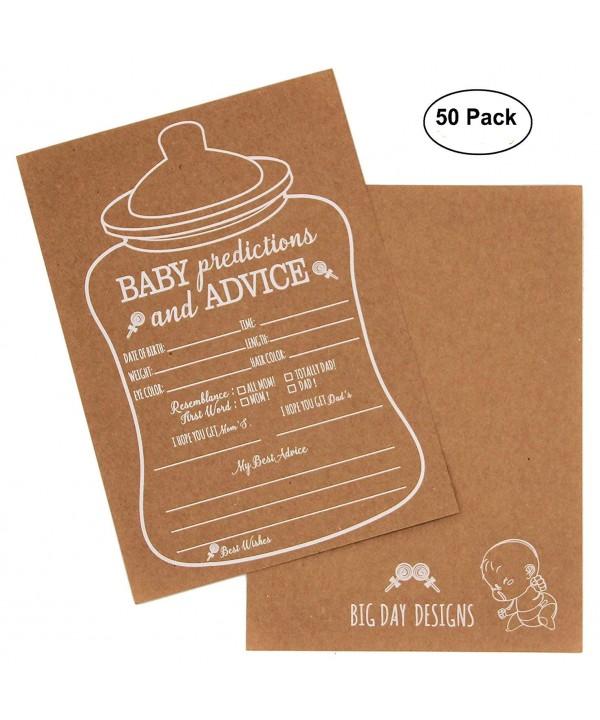 Rustic Prediction Message Invitations Nursing bottle