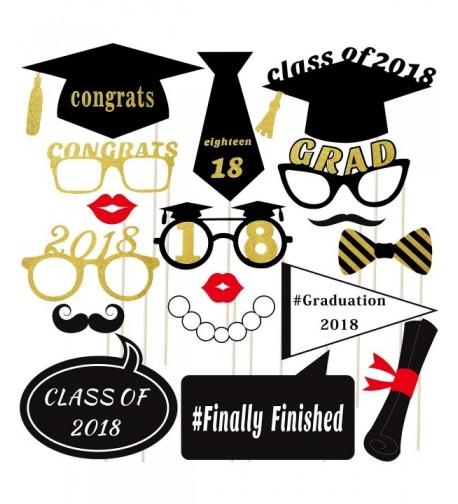 18pcs Graduation Required Glitter Supplies