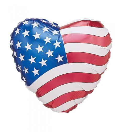Patriotic Heart Balloon Party Accessory
