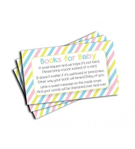 Shower Insert Request Cards 50 Cards