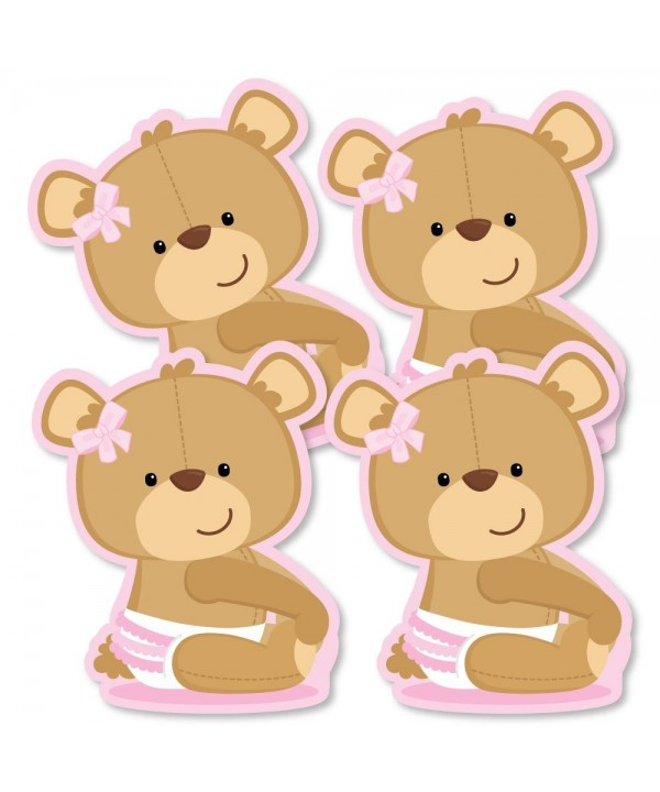 Baby Girl Teddy Bear Decorations