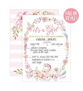 Brands Baby Shower Party Invitations On Sale