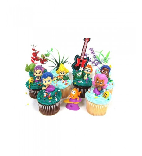 Guppies Birthday Cupcake Featuring Characters
