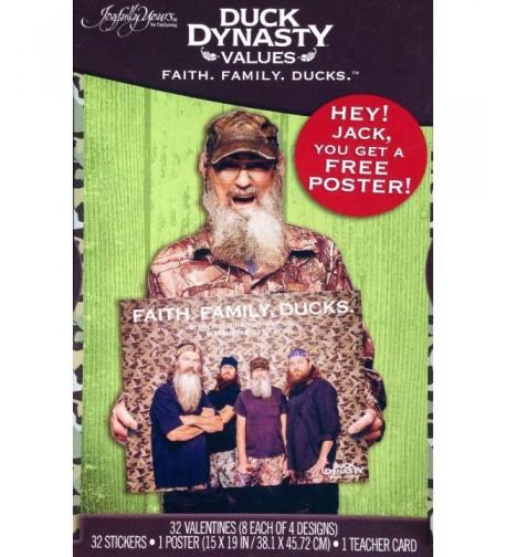 Dynasty Valentine Cards Family Values