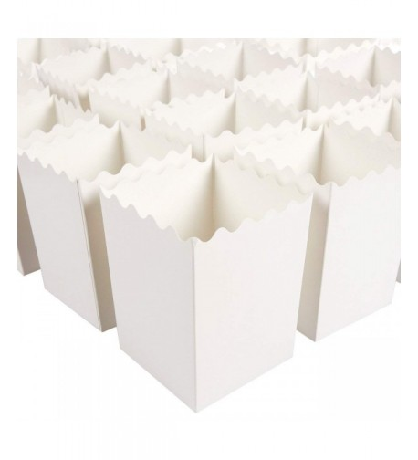Set 100 Popcorn Favor Boxes