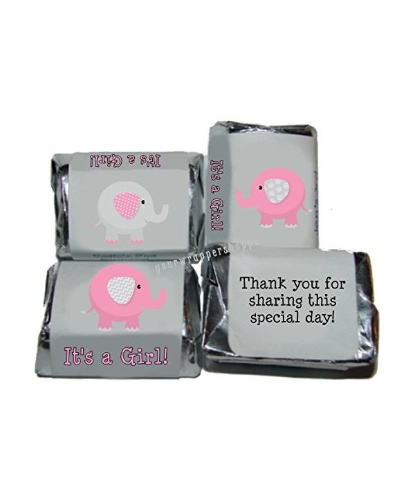 Elephant Shower Candy Nuggets Labels