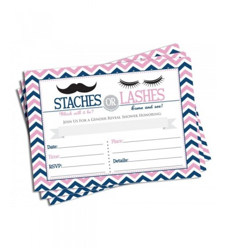 50 Gender Reveal Invitations Envelopes