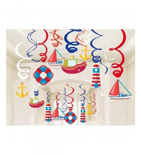Kristin Paradise Nautical Decorations Streamers