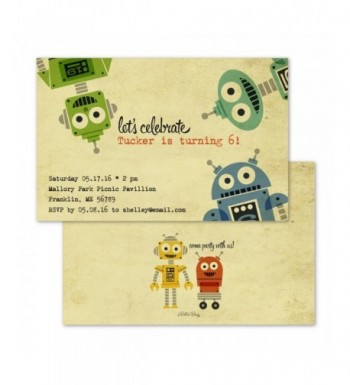 Friendly Personalized Childrens Birthday Invitation