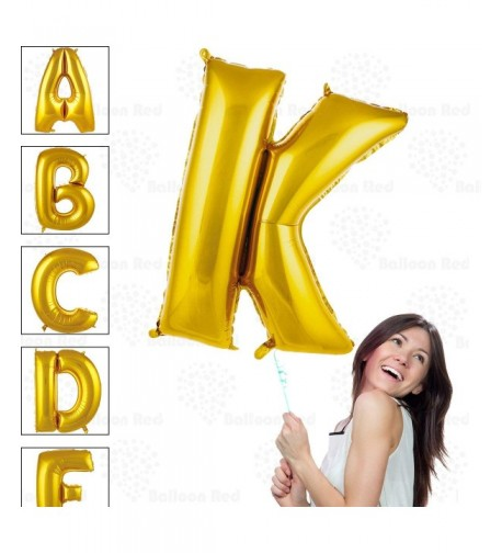 Helium Glossy Balloons Decorations Letter