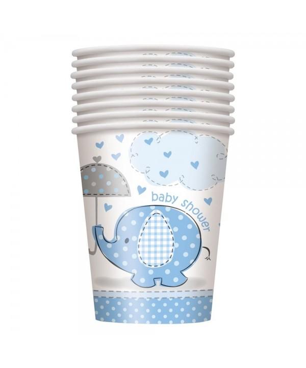 Blue Elephant Baby Shower Paper
