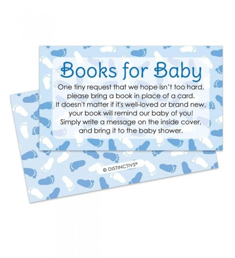 Books Baby Request Cards Invitation