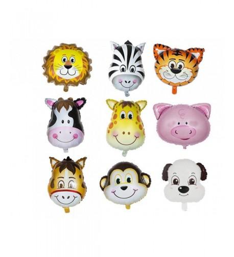 Animal Head Balloon Congratulation Anniversary