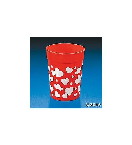 Valentine Tumblers VALENTINES Supplies Tableware