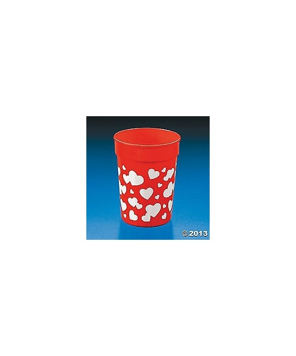 Valentine Tumblers VALENTINES Supplies Tableware