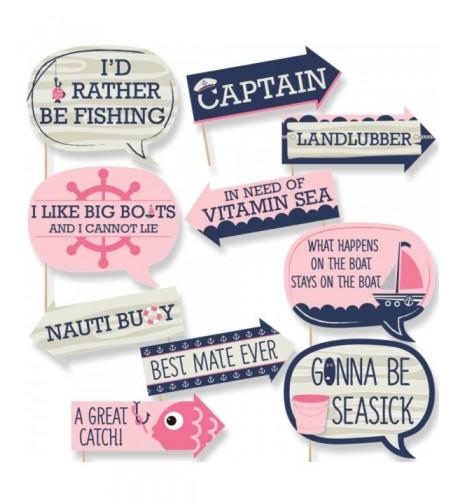 Funny Ahoy Nautical Shower Birthday