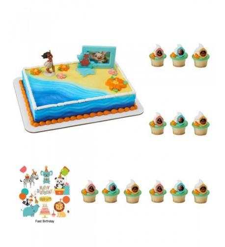 Complete Cupcake Decoration Birthday Supplies